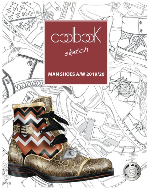 CoolBook Sketch – Man Shoes A/W 2019/20