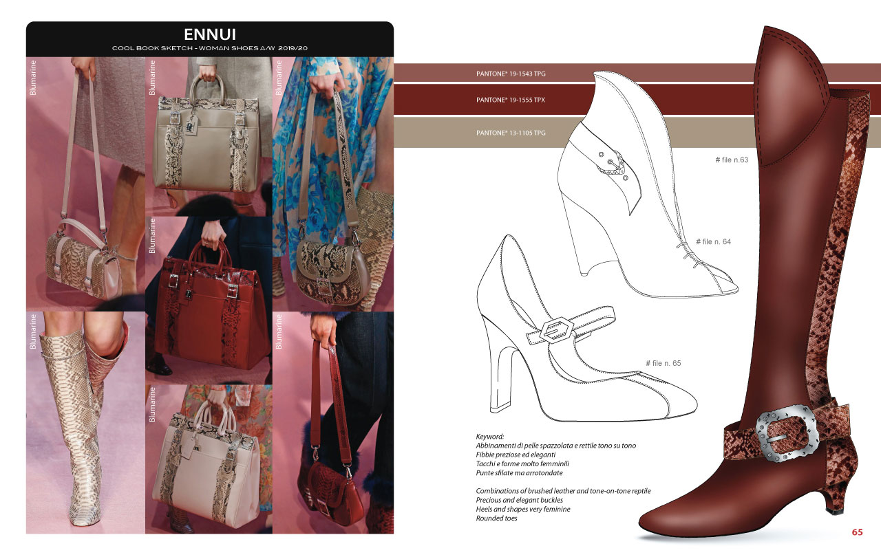 CoolBook Sketch – Woman Shoes A/W 2019/20