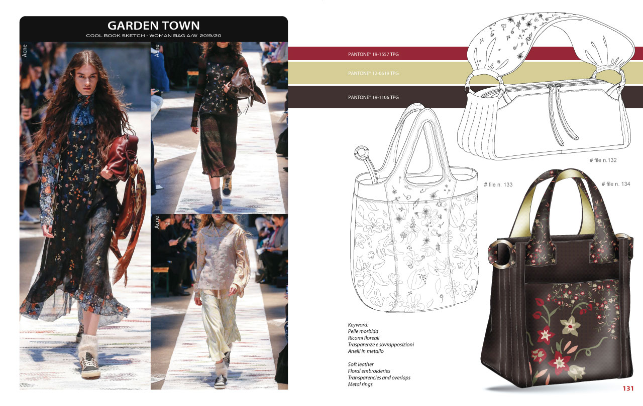 CoolBook Sketch – Woman Bag A/W 2019/20