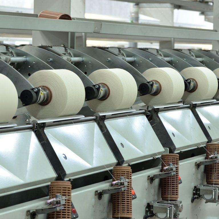 macchina fibre tessili