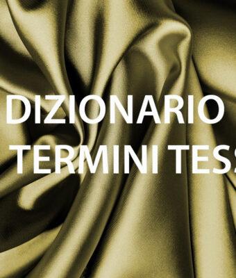 Dizionario dei termini tessili