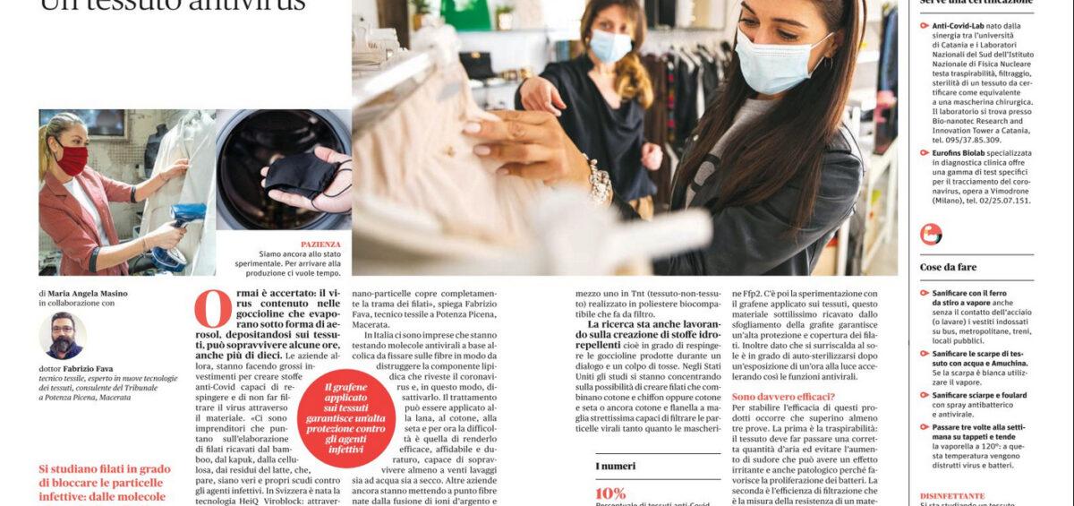 articolo benessere novembre 2020 I Fabrizio Fava