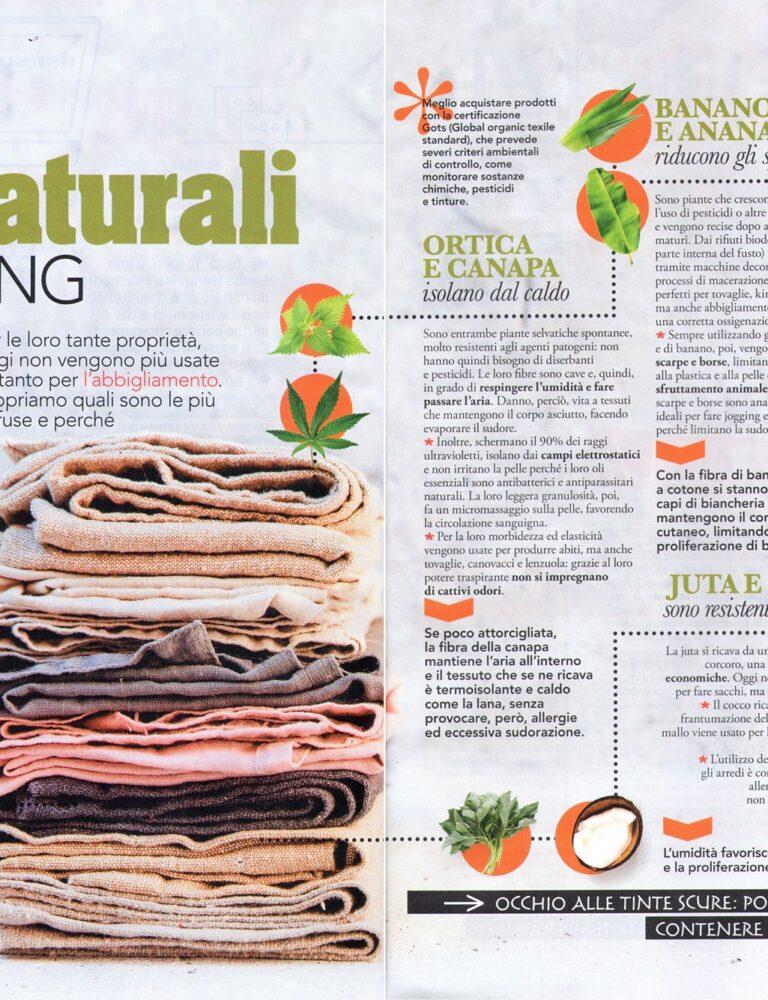 eco tendenze fibre naturali tessili Fabrizio Fava